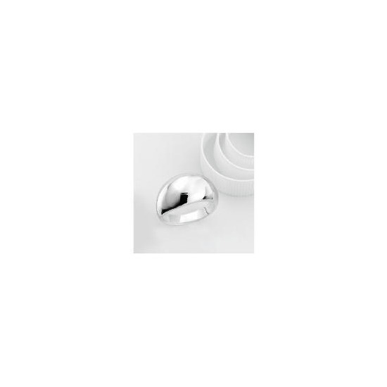 Sterling Silver Domed Ring, Large