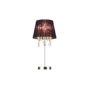 Photo of Ribbon & Droplet Shade Table Lamp Lighting