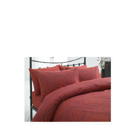 Tesco New Moroccan King Duvet Set, Red Reviews