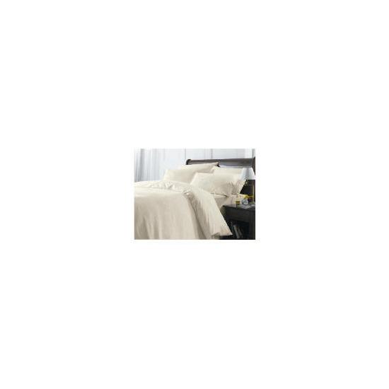 Finest Cream Floral King Duvet Set