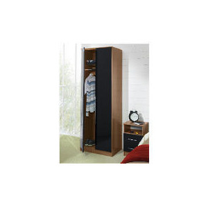 Photo of Eclipse 2 Door Wardrobe, Black Furniture