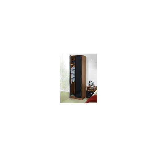 Eclipse 2 door Wardrobe, Black