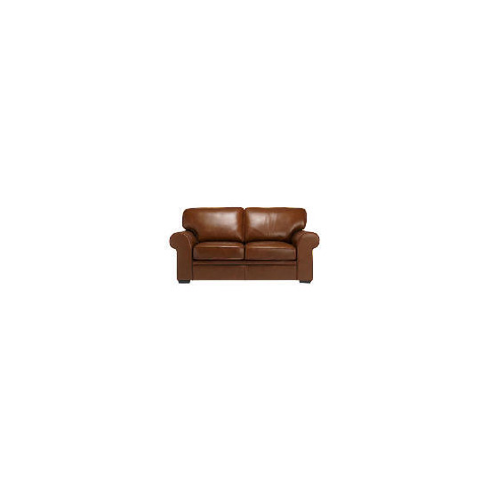 York Leather Sofa, Cognac