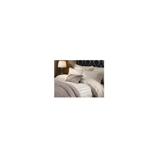 Hotel 5* Duvet Satin Stripe Set Super King Beige