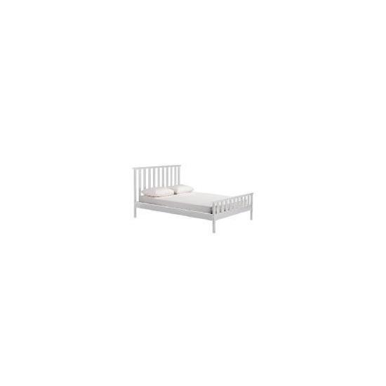 Fairhaven Double Bed, White