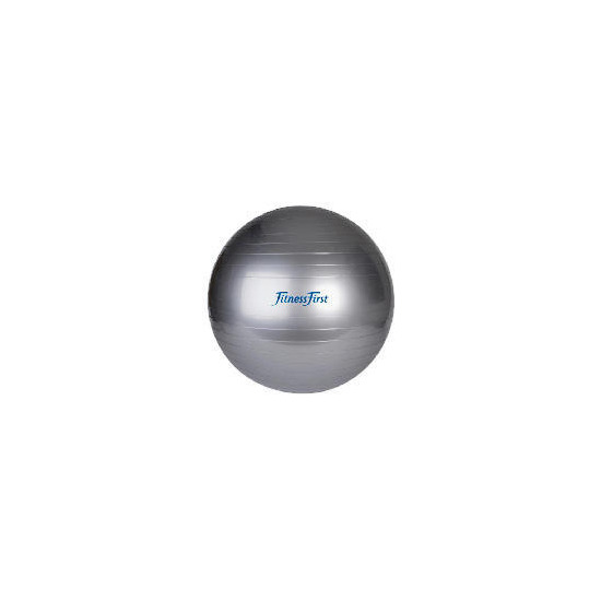 Fitness First  Gym Ball - Silver