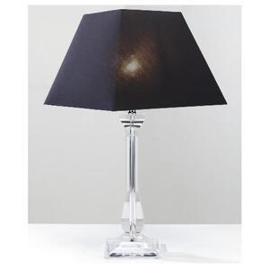 Photo of Tesco 5* Hotel Tesco Clear Column Table Lamp Lighting