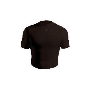 Photo of Short Sleeve Bodyshirt Crew Neck (BLACK Adult XLARGE) Tops Man