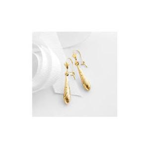 Photo of 9CT Gold Drop Earrings Jewellery Woman