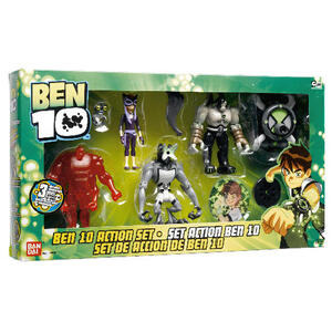Photo of Ben 10 Action Set - Exclusive To Tesco Toy
