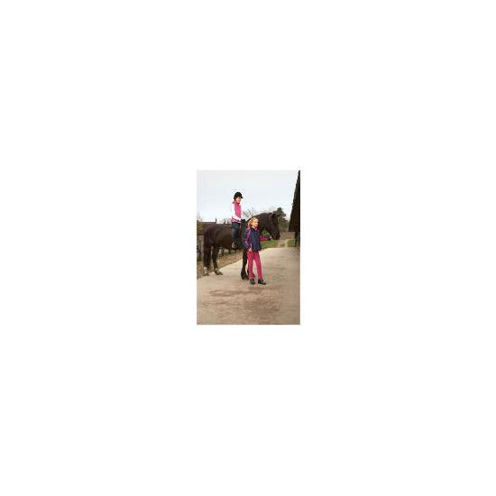 Tesco girls Hot Pink waistcoat age 9-10