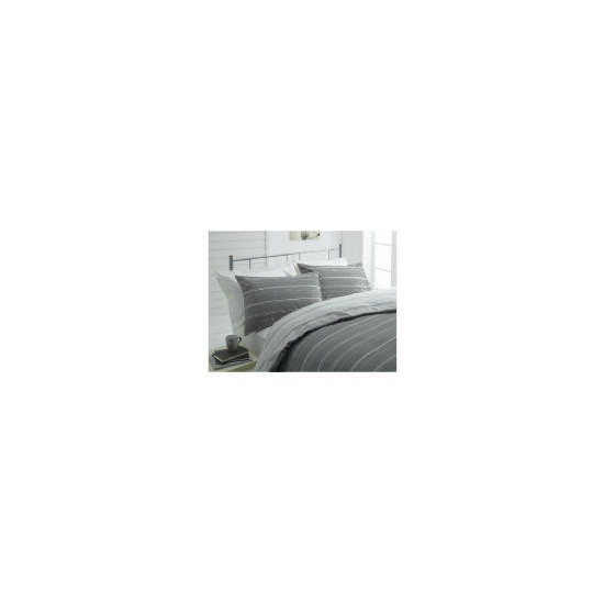 Tesco Sketch Double Duvet Set, Natural