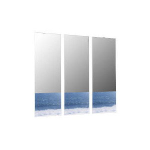Photo of Wave Mirrors 76X25CM, 3 Pack Home Miscellaneou