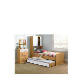 Shake Single Trundle Bed, White Reviews