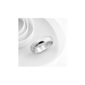 Photo of 9CT White Gold 5MM Wedding Ring T Jewellery Woman