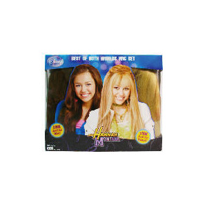 Photo of Hannah Montana Double Wig - Exclusive To Tesco Toy