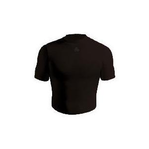 Photo of Short Sleeve Bodyshirt Crew Neck (BLACK Adult Medium) Tops Man
