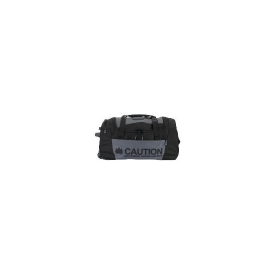 Ministry of Sound CAUTION Wheeled Holdall