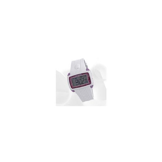 K swiss white digital watch  resin strap