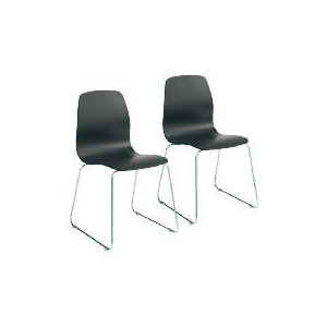 Photo of Pair Of Whistler Dining Chairs, Black Furniture