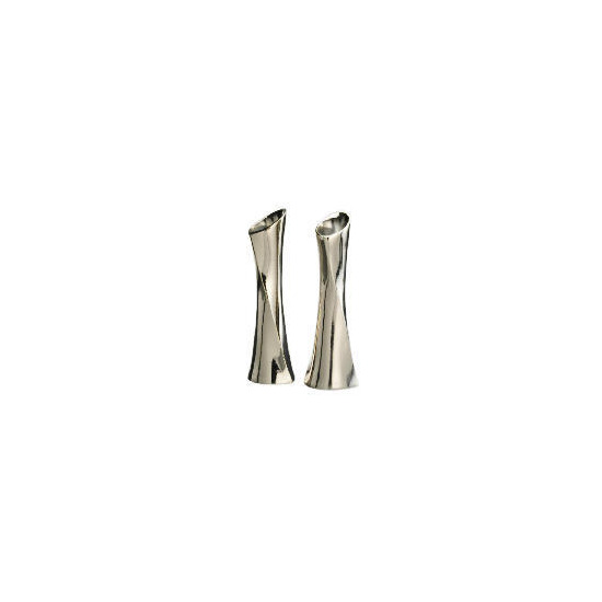 Finest Silver Plated Candle Sticks 2 Pack