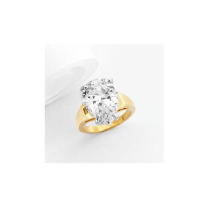Photo of Adrian Buckley Cubic Zirconia Ring, Small Jewellery Woman