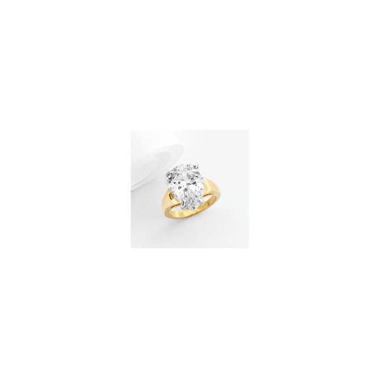 Adrian Buckley Cubic Zirconia Ring, Small