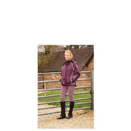 Ladies Lightweight Waterproof Quilted Purple riding jacket size 10 Reviews