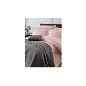Photo of Finest Revolve Jacquard Super King Duvet Set, Pink Bed Linen