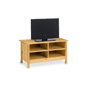 Photo of Pine 4 Shelf TV Unit TV Stands and Mount