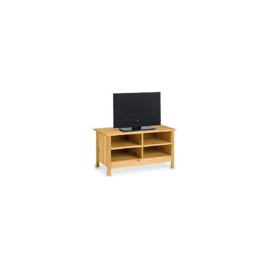 Pine 4 shelf TV Unit