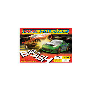 Photo of Micro Scalextric Double Bash N Crash Toy
