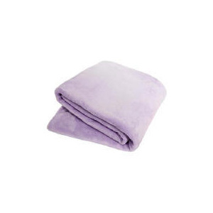 Photo of Tesco Kids Supersoft Throw Lilac Bed Linen