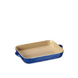 Le Creuset Curve stoneware 30cm rectangular baking dish Mediterranean Blue Reviews