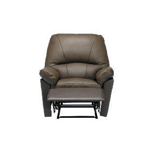 Photo of Boston Leather Recliner Chair, Chocolate Furniture