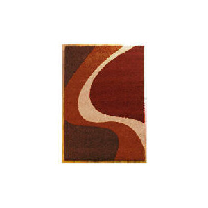 Photo of Tesco Single Wave Rug 80X150CM Cinnamon Furniture