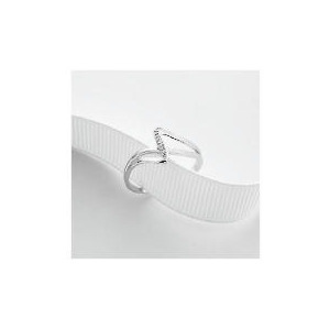 Photo of 9CT White Gold Diamond Ring Q Jewellery Woman