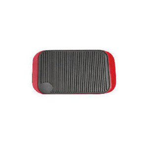 Photo of Tesco Finest Cast Iron Reversable Grill Red Cookware
