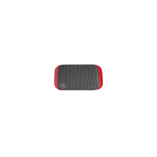 Tesco Finest Cast Iron Reversable Grill Red