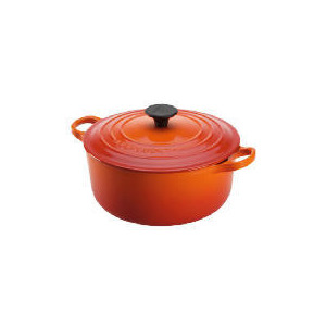 Photo of Le Creuset 24CM Round Casserole - Volcanic Cookware
