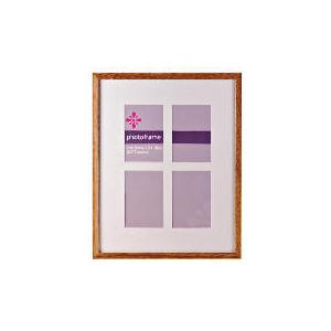 "Photo of Tesco Square 4 Aperture Frame 5X7"" Home Miscellaneou"