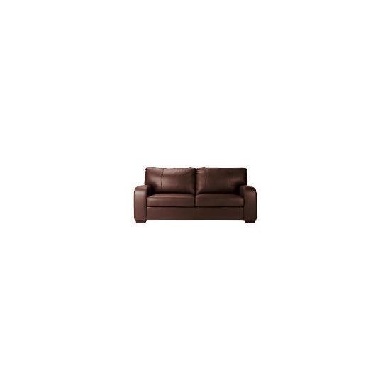 Memphis Large Leather Sofa, Espresso
