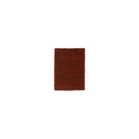 Tesco Mixed Yarn Shaggy Rug, Red 160x230 cm