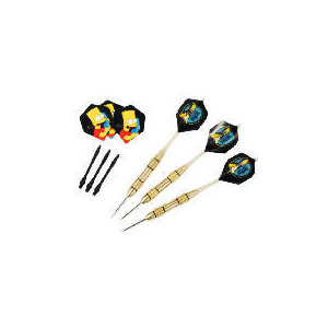 Photo of Simpson Gift Pack Dart Set Sports and Health Equipment