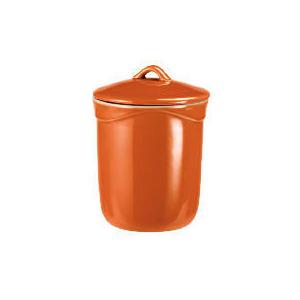 Photo of Le Creuset Curve Stoneware Storage Jar (1L) Colour Flame Cookware