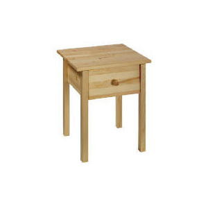 Photo of Pine 1 Drawer Bedside Table Furniture