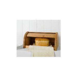 Photo of Tesco Beech Wood Bread Bin Kitchen Accessory