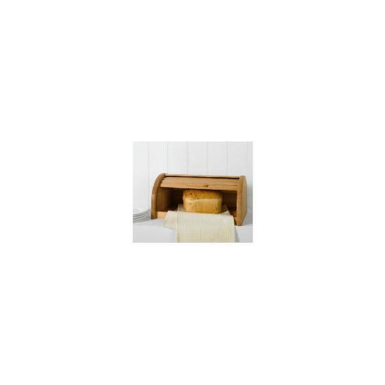 Tesco beech wood bread bin