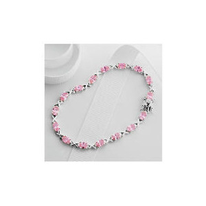 Photo of Sterling Silver Cubic Zirconia Bracelet Jewellery Woman