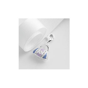 Photo of Sterling Silver Enamel and Crystal Handbag Charm Jewellery Woman